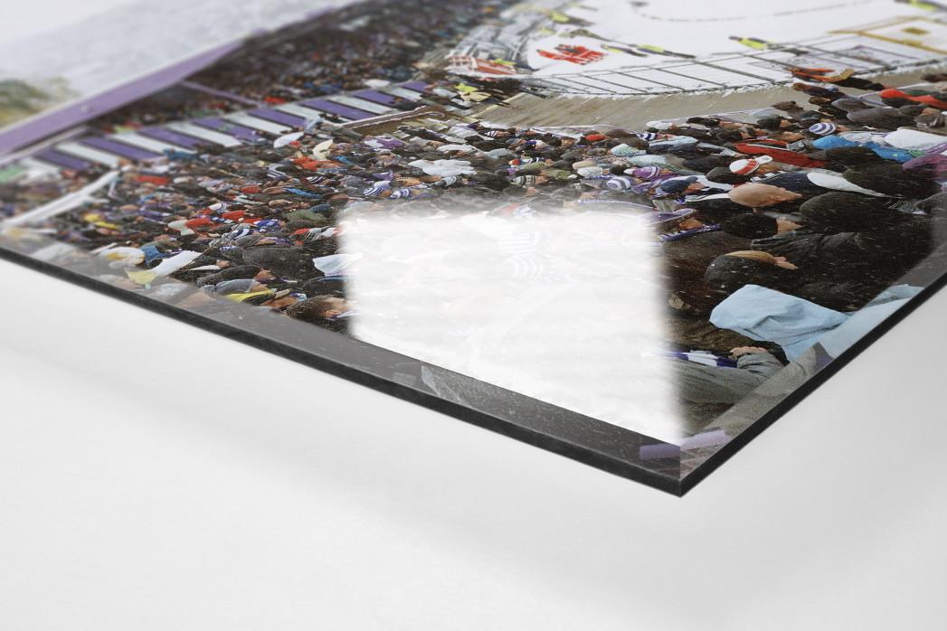 Aue (2012) als Direktdruck auf Alu-Dibond hinter Acrylglas (Detail)