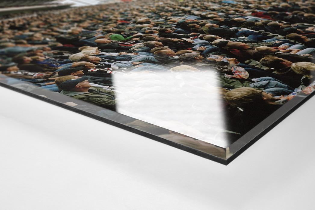 Hamburg (St. Pauli, 2010) als Direktdruck auf Alu-Dibond hinter Acrylglas (Detail)