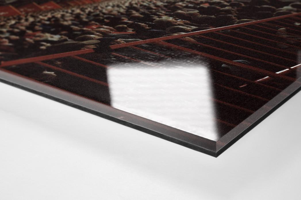 Berlin (Alte Försterei, 2010) als Direktdruck auf Alu-Dibond hinter Acrylglas (Detail)