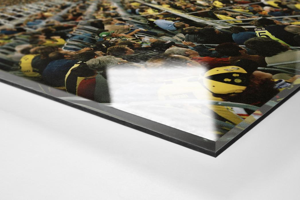 Dortmund (2003) als Direktdruck auf Alu-Dibond hinter Acrylglas (Detail)