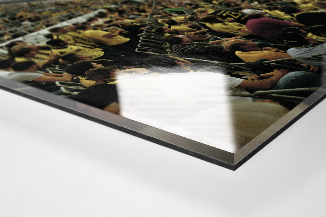 Dortmund (2011) als Direktdruck auf Alu-Dibond hinter Acrylglas (Detail)