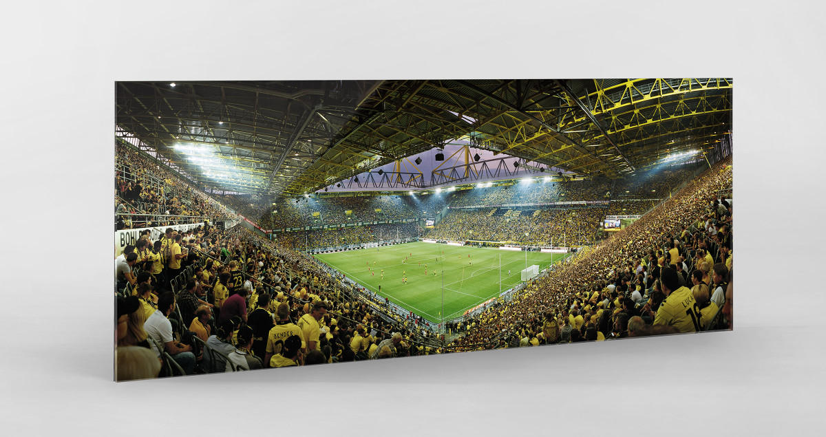 Dortmund (2011) als Direktdruck auf Alu-Dibond hinter Acrylglas
