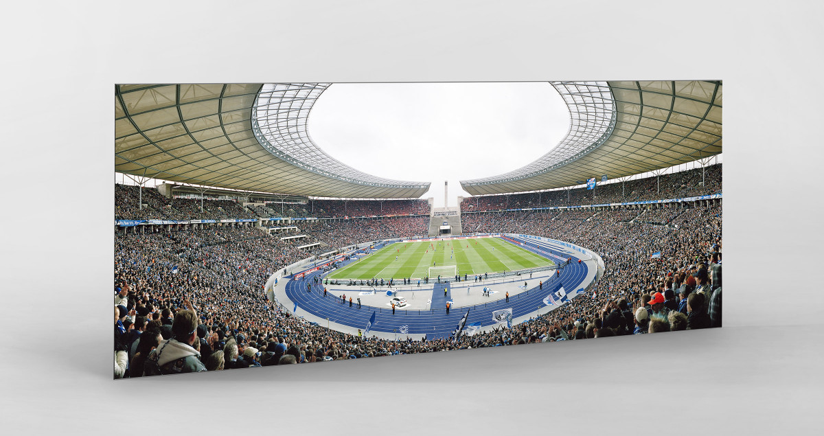 Berlin (Olympiastadion, 2011) als auf Alu-Dibond kaschierter Fotoabzug