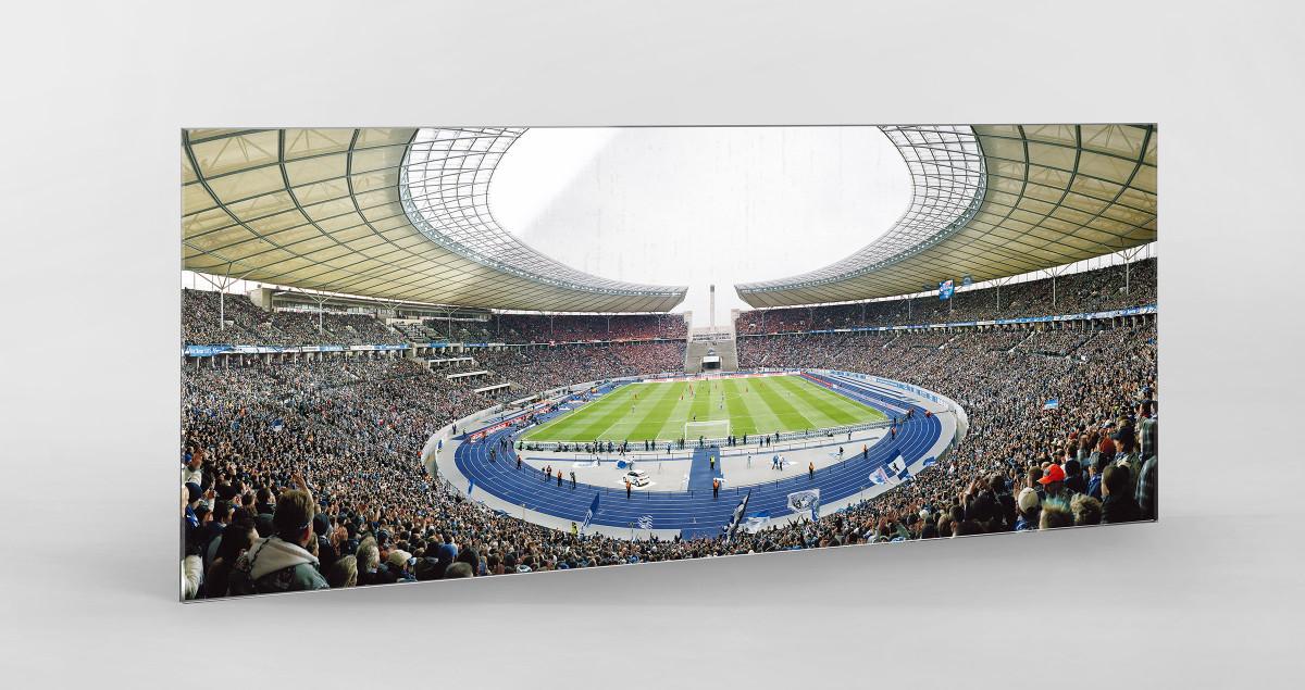 Berlin (Olympiastadion, 2011) als Direktdruck auf Alu-Dibond hinter Acrylglas