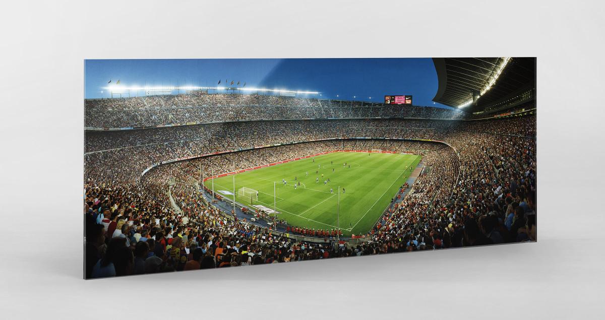 Barcelona 01 als Direktdruck auf Alu-Dibond hinter Acrylglas