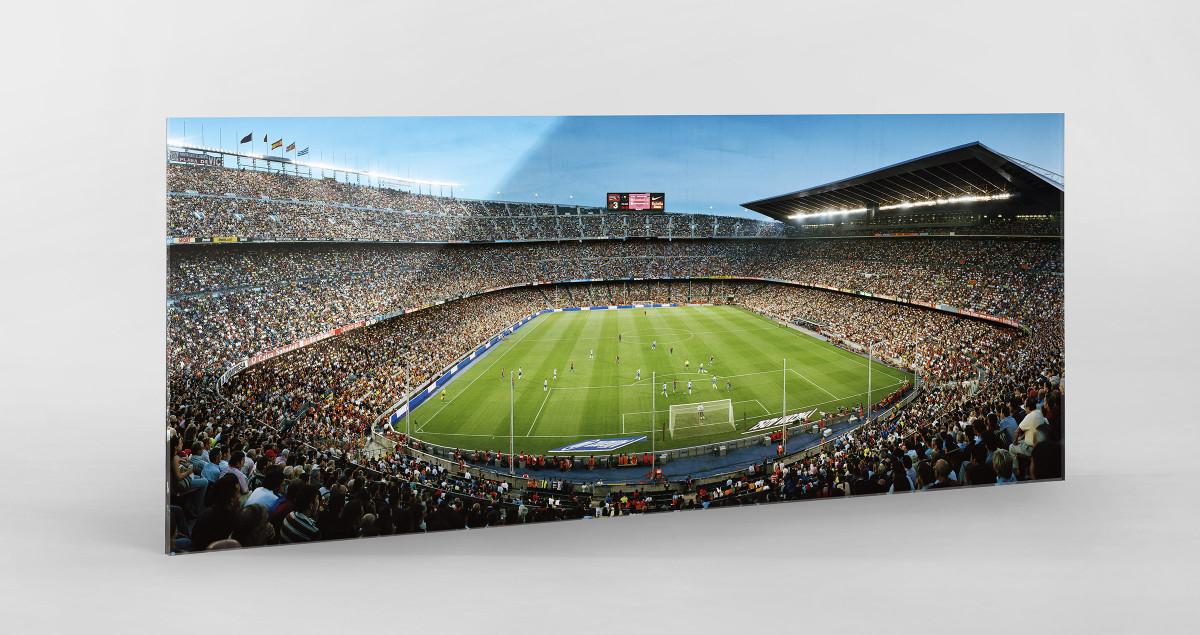 Barcelona 02 als Direktdruck auf Alu-Dibond hinter Acrylglas