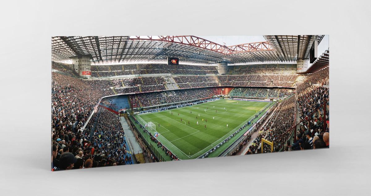 Mailand als Direktdruck auf Alu-Dibond hinter Acrylglas