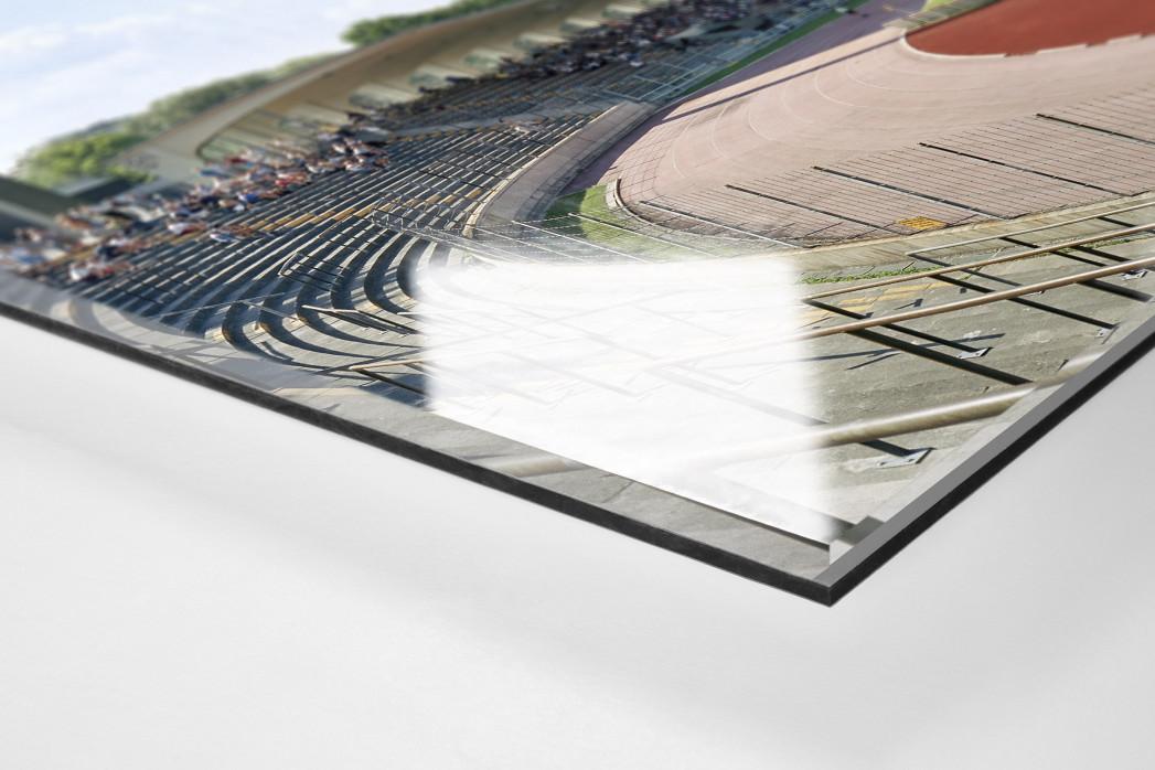 Augsburg als Direktdruck auf Alu-Dibond hinter Acrylglas (Detail)