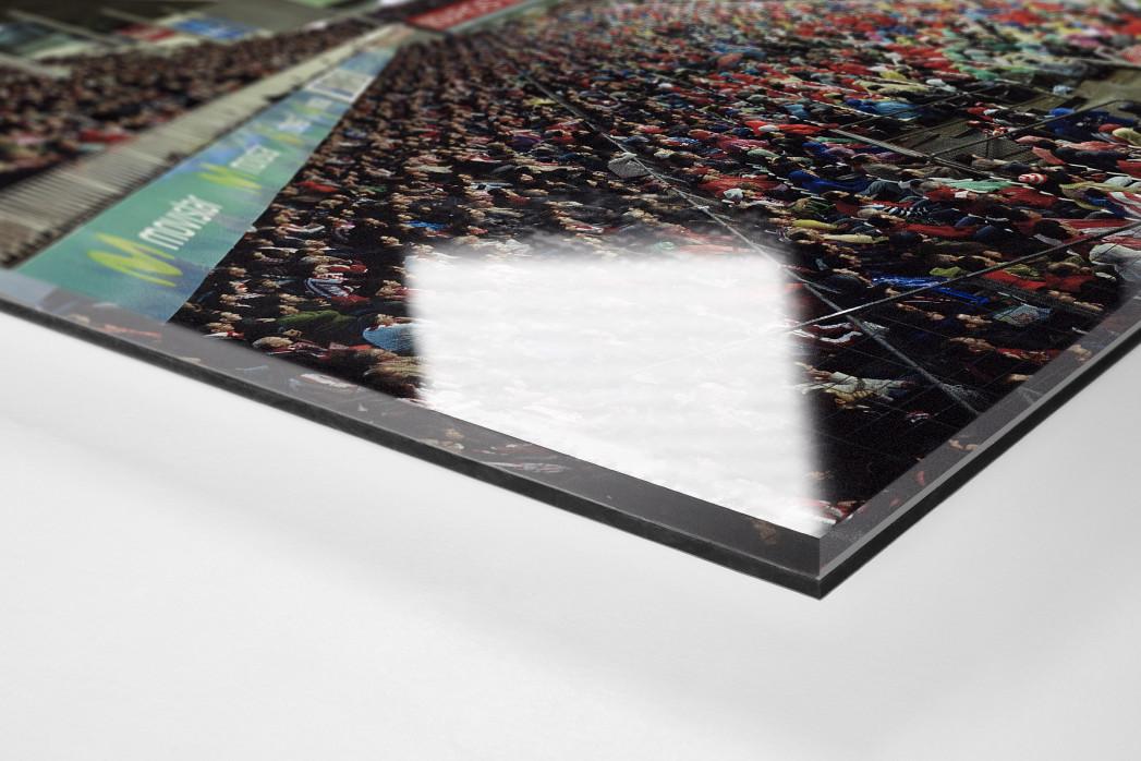 Bilbao als Direktdruck auf Alu-Dibond hinter Acrylglas (Detail)