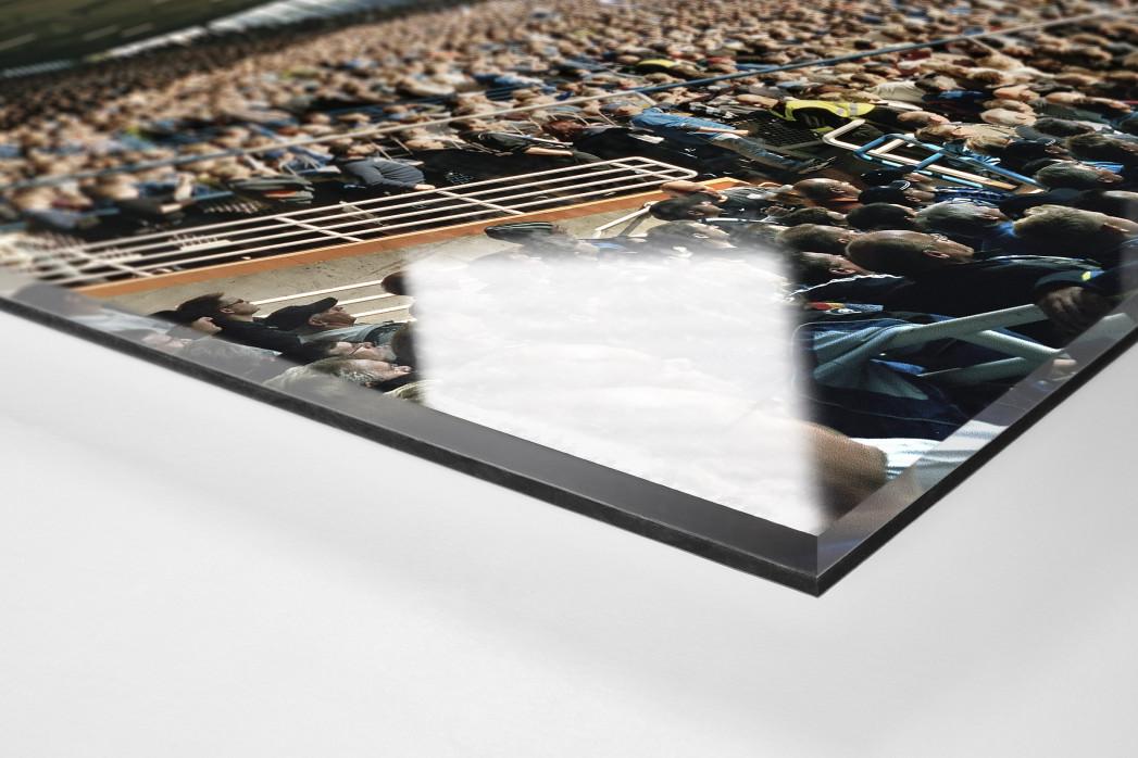 Bochum als Direktdruck auf Alu-Dibond hinter Acrylglas (Detail)