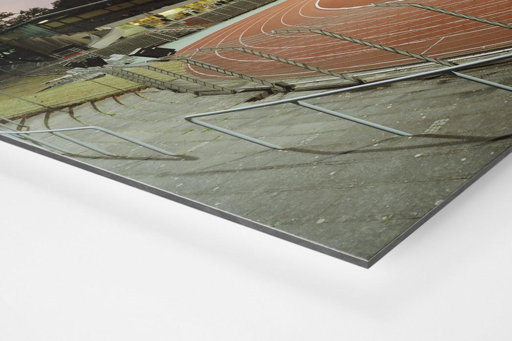 Berlin (Mommsenstadion) als auf Alu-Dibond kaschierter Fotoabzug (Detail)