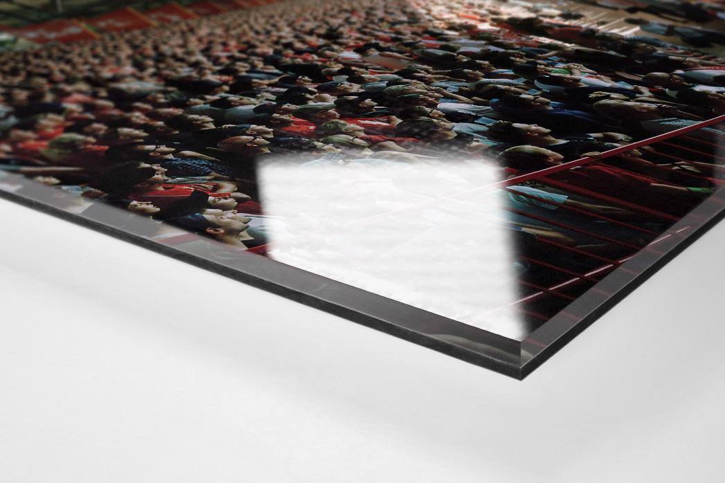Berlin (Alte Försterei, 2013) als Direktdruck auf Alu-Dibond hinter Acrylglas (Detail)
