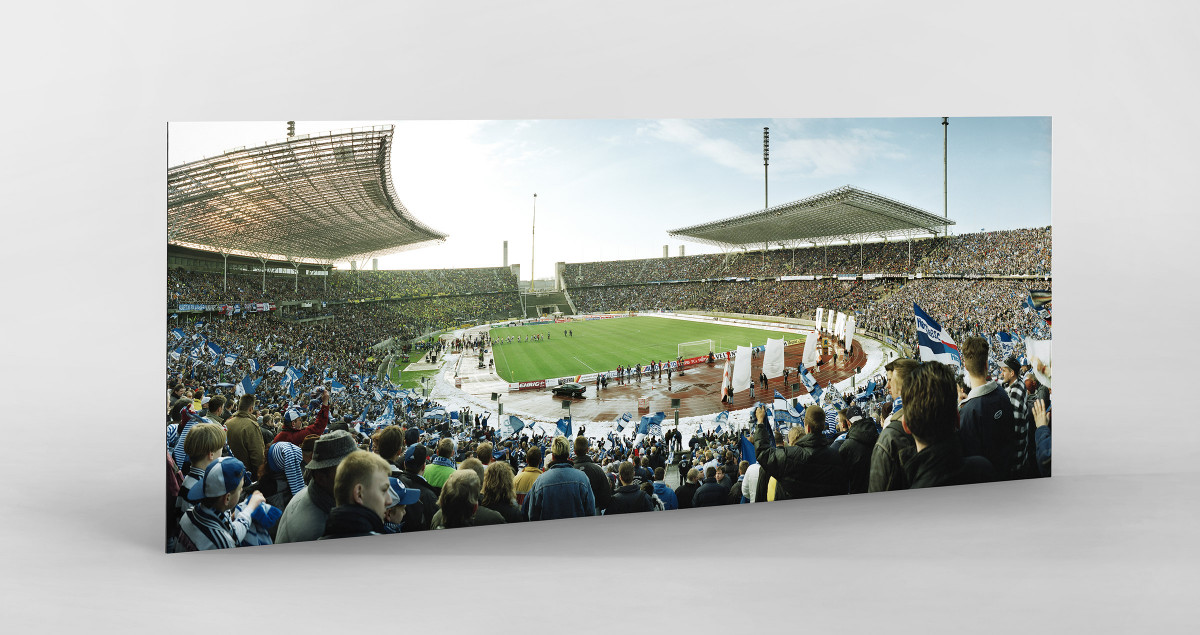 Berlin (Olympiastadion, 1999) als auf Alu-Dibond kaschierter Fotoabzug