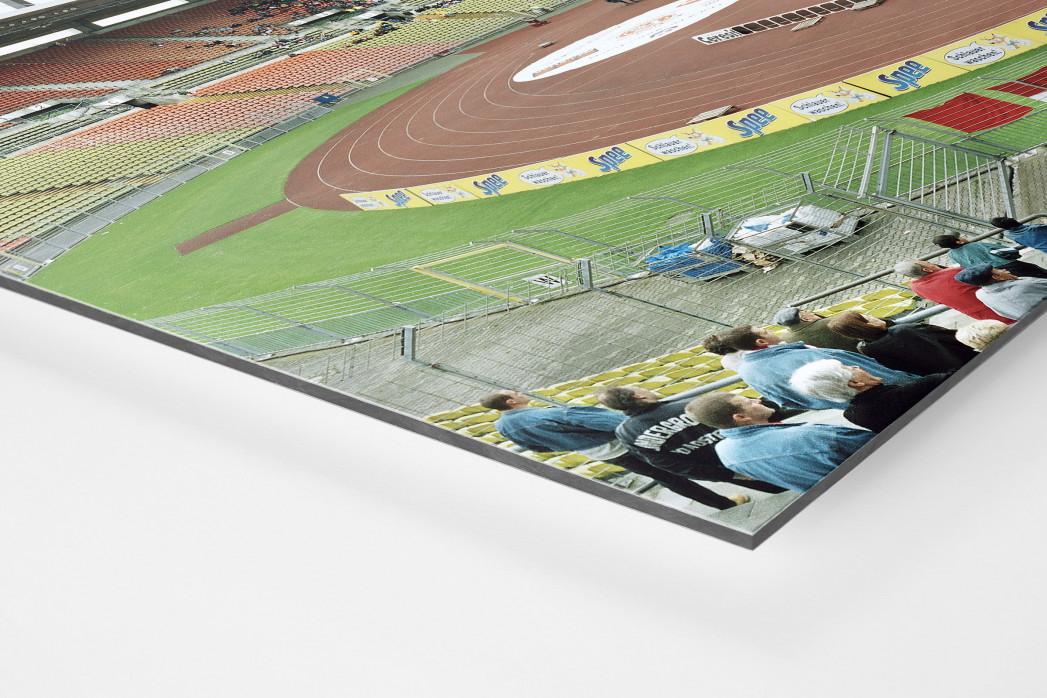 Düsseldorf (1998) als auf Alu-Dibond kaschierter Fotoabzug (Detail)