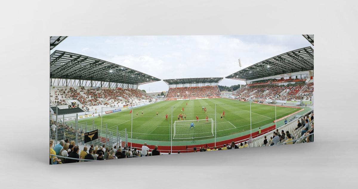 Essen (Stadion Essen) als auf Alu-Dibond kaschierter Fotoabzug