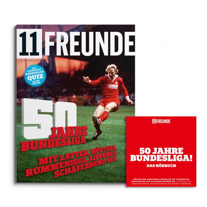"""11FREUNDE Ausgabe #138 (inkl. Hörbuch-CD """"50 Jahre Bundesliga"""")"""