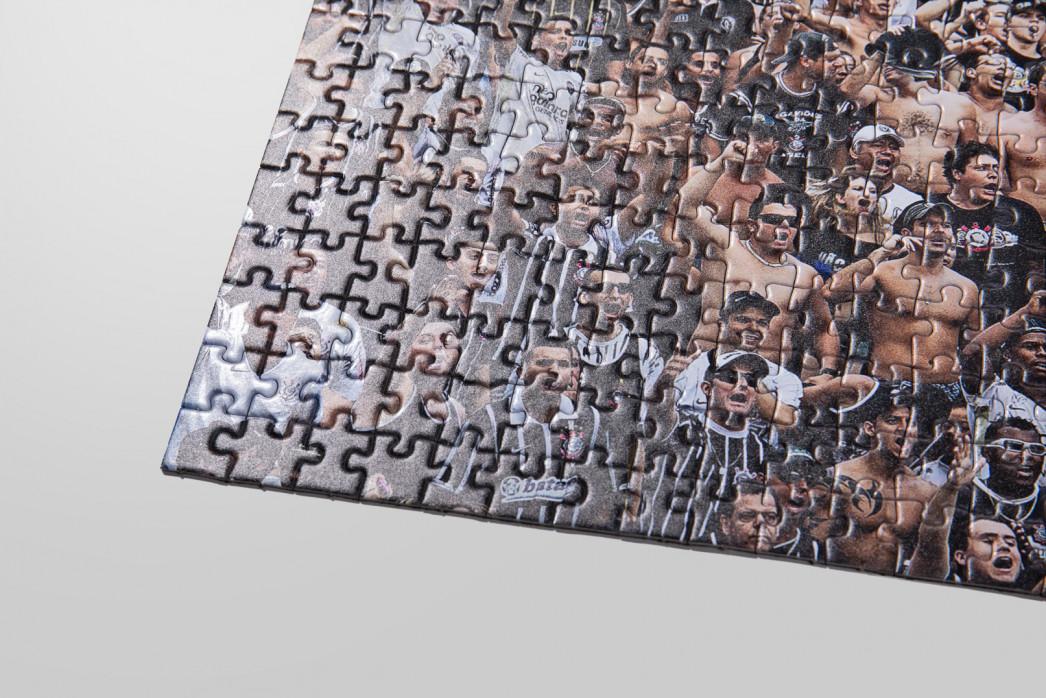 Puzzle: Corinthians Fankurve - Fußball - Reinaldo Coddou
