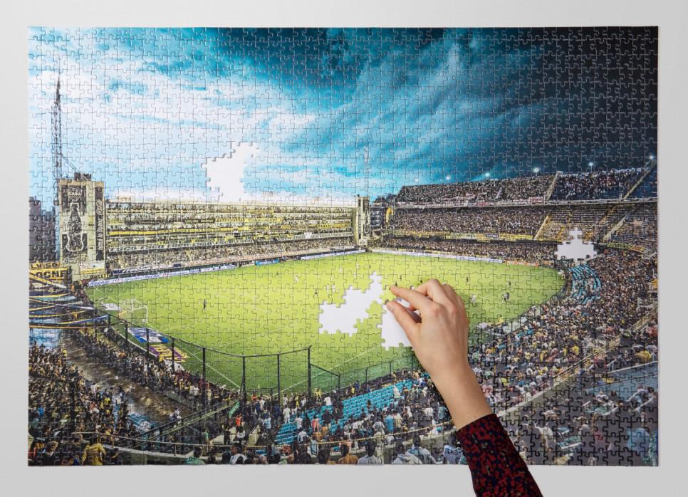 Puzzle: La Bombonera (Farbe)