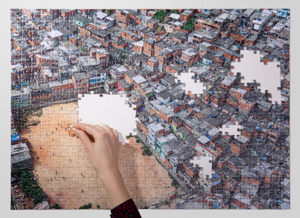 Puzzle: Fußballplatz in São Paulo