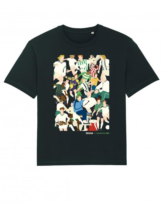 Gladbach Clash T-Shirt (Fairwear & Bio-Baumwolle) - Design: HANDS OF GOD