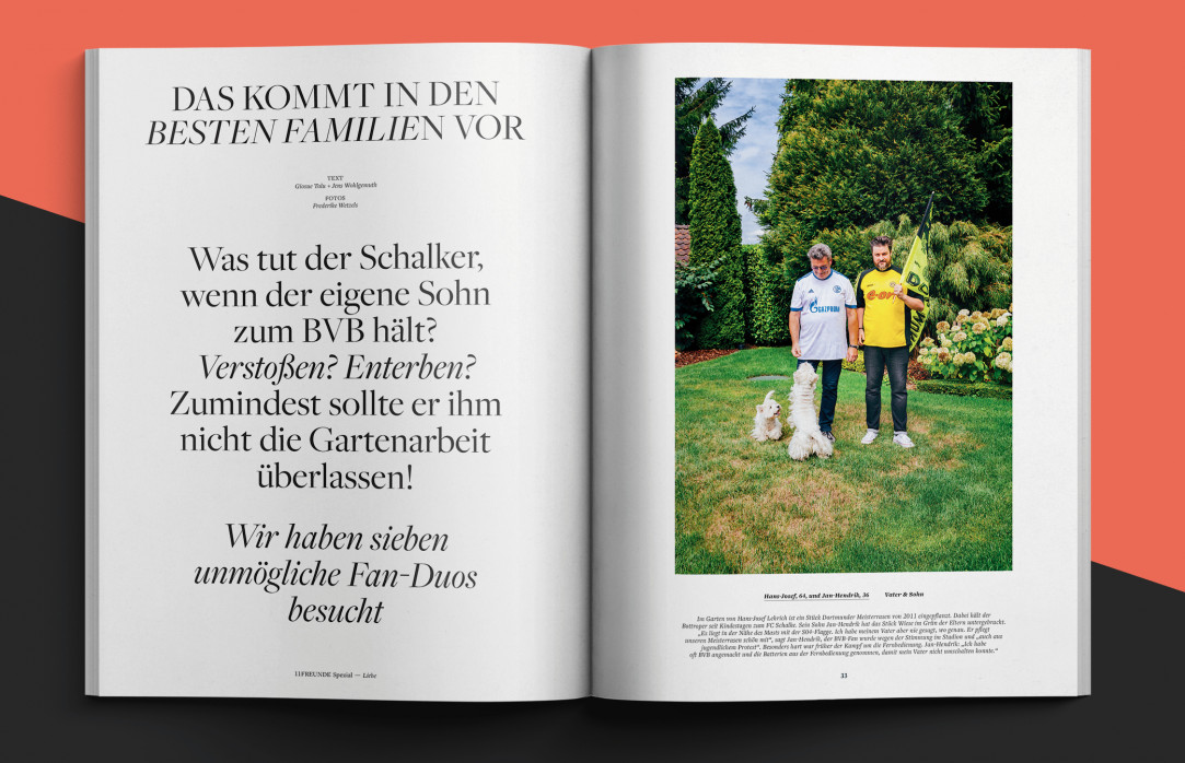 11FREUNDE SPEZIAL: Liebe & Hass - Heft bestellen - 11FREUNDE SHOP