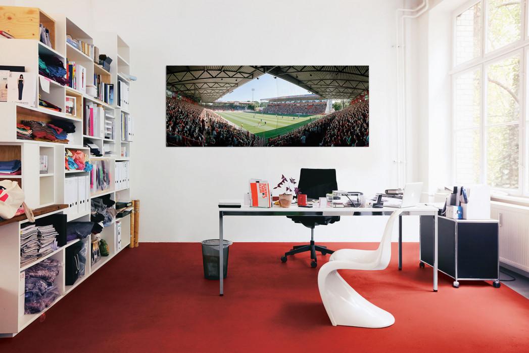 Stadion an der Alten Försteri in deinem Büro - 11FREUNDE BILDERWELT