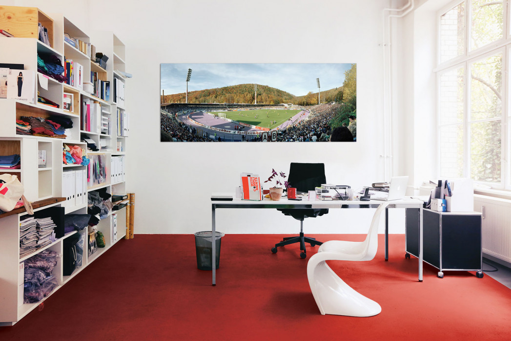 Aue Erzgebirgsstadion in deinem Büro - 11FREUNDE BILDERWELT