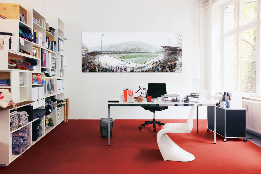 Aue Sparkassen-Erzgebirgsstadion in deinem Büro - 11FREUNDE BILDERWELT