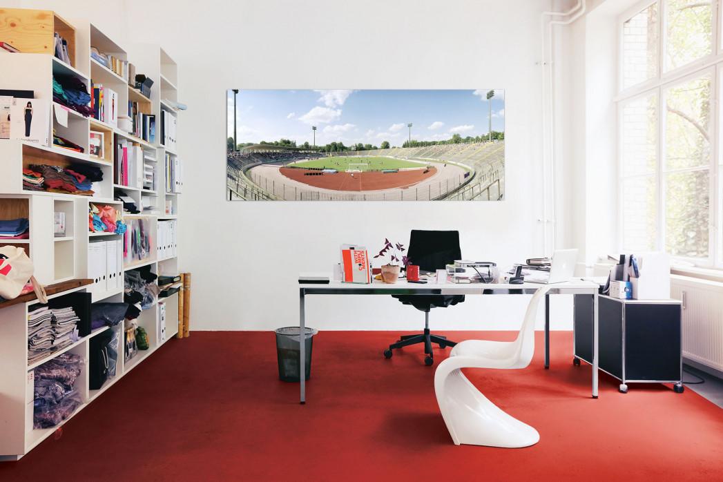 Das Rosenaustadion in Augsburg für dein Büro - 11FREUNDE BILDERWELT