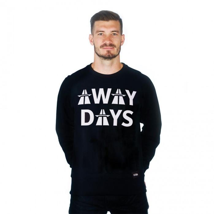 Away Days Sweater   Black