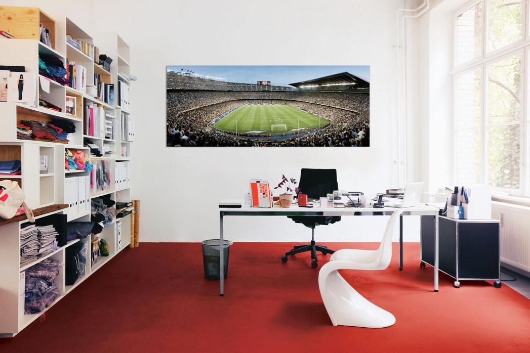 FC Barcelona Camp Nou in deinem Büro - 11FREUNDE BILDERWELT