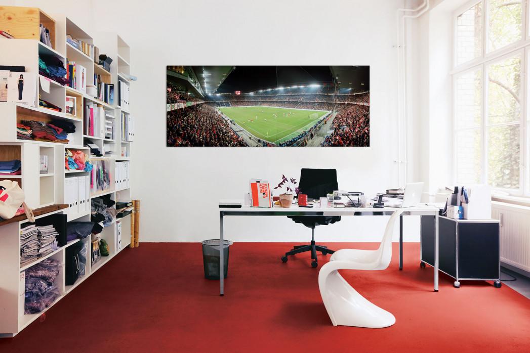 In deinem Büro: Stadionfoto Basel St. Jakob-Park