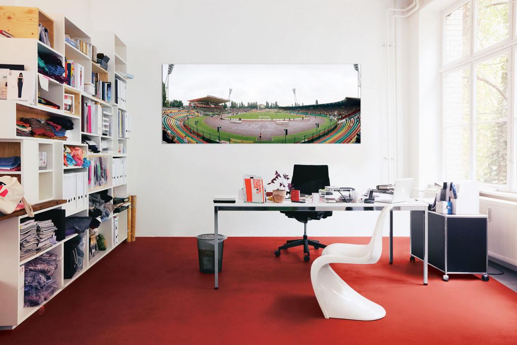 Friedrich-Ludwig-Jahn-Sportpark in deinem Büro - 11FREUNDE BILDERWELT