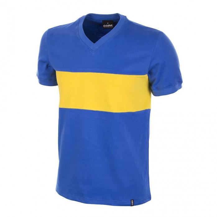 Boca Juniors 1960's Short Sleeve Retro Football Shirt
