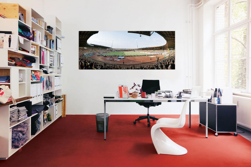 Das Eintracht-Stadion in deinem Büro - 11FREUNDE BILDERWELT