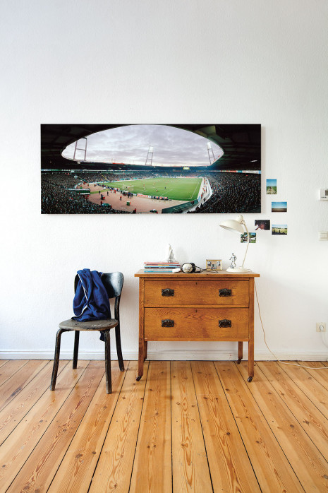 Das Bremer Weserstadion 2003 in deinen vier Wänden - 11FREUNDE BILDERWELT