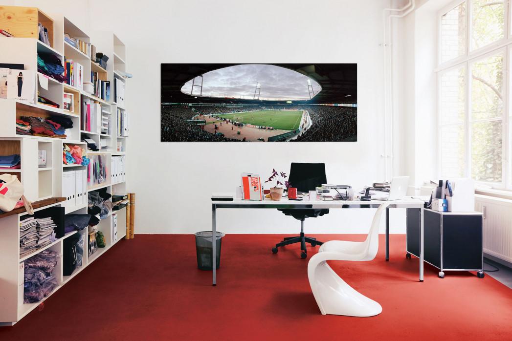 Das Bremer Weserstadion 2003 in deinem Büro - 11FREUNDE BILDERWELT