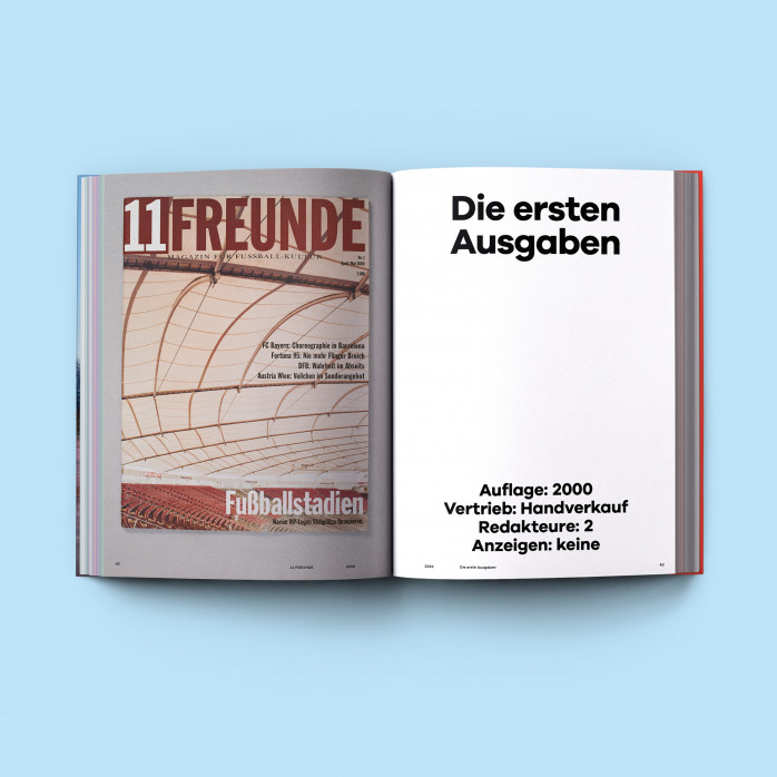 DAS GROSSE 11FREUNDE BUCH - Heyne Hardcore - 456 Seiten - Im 11FREUNDE SHOP bestellen