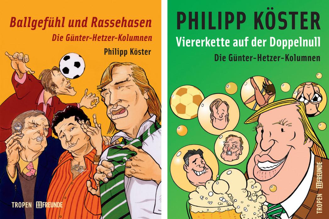 Bundle: Die Günter-Hetzer-Kolumnen - 11FREUNDE SHOP - Fußballbücher