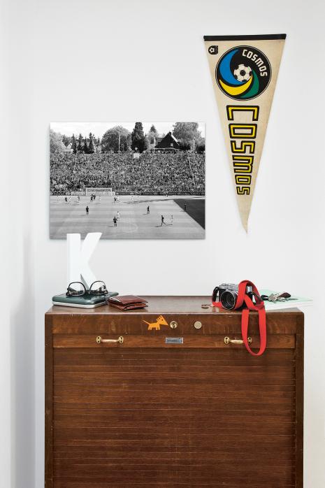 »Blick auf die Südtribüne« über deiner Kommode - 11FREUNDE BILDERWELT