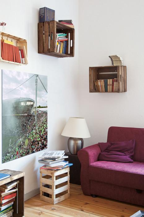 »Ecke Nord- und Westtribüne« in deinem Wohnzimmer - 11FREUNDE BILDERWELT