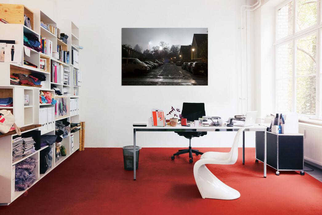 »Grotenburg-Stadion bei Flutlicht« in deinem Büro