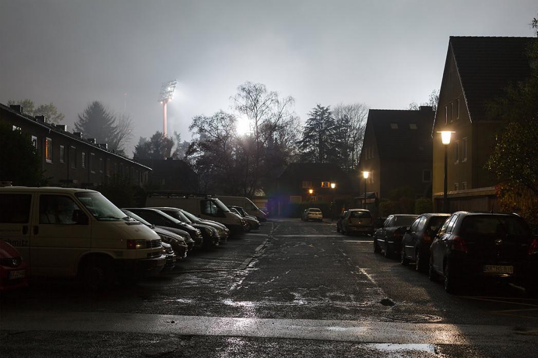 Grotenburg-Stadion bei Flutlicht - Christoph Buckstegen - 11FREUNDE BILDERWELT