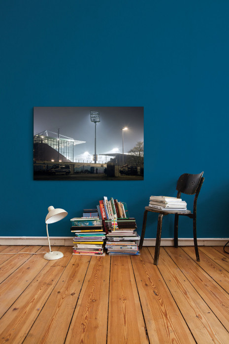 »Millerntor-Stadion bei Flutlicht« an deiner Wand