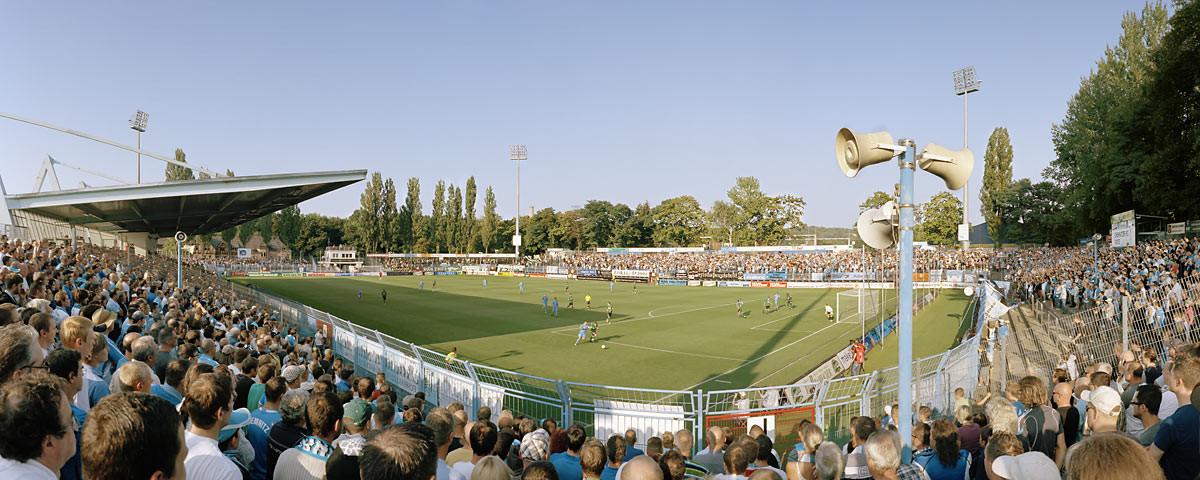 Chemnitz Stadion an der Gellertstraße - 11FREUNDE BILDERWELT