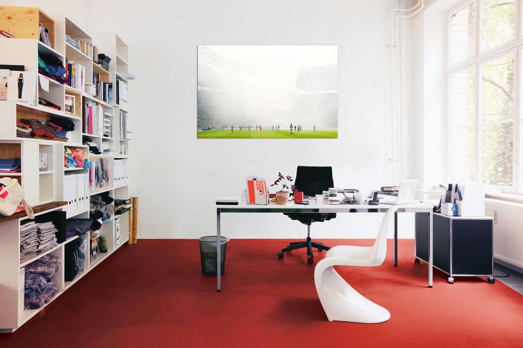 »Berliner Nebel« in deinem Büro - 11FREUNDE BILDERWELT