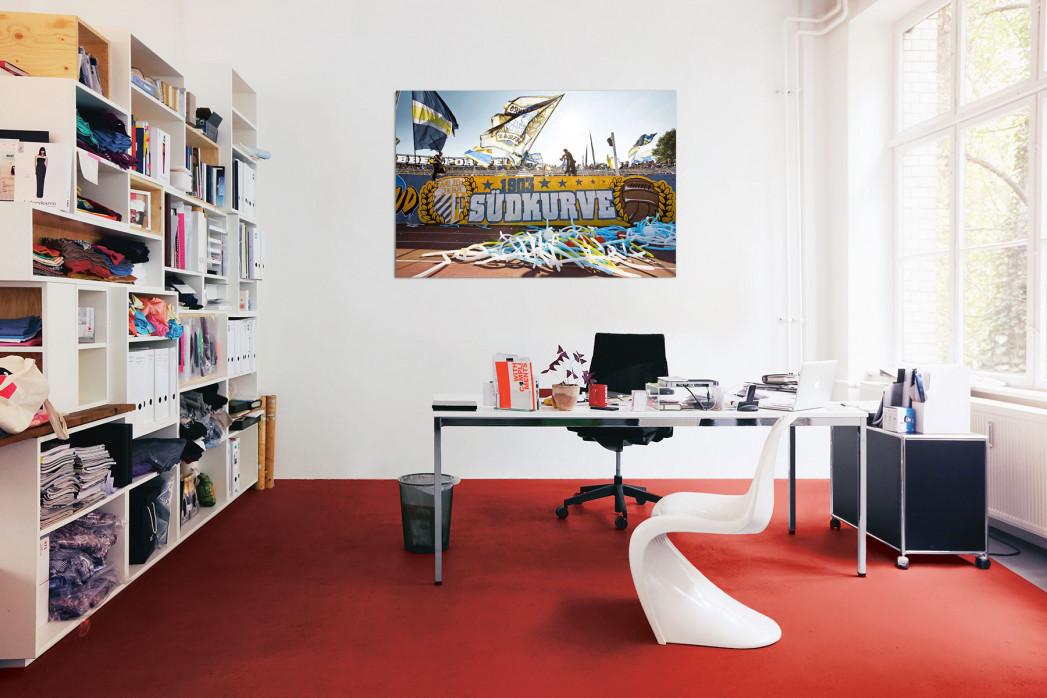 Fahnen und Fans von Carl Zeiss Jena in deinem Büro - 11FREUNDE BILDERWELT