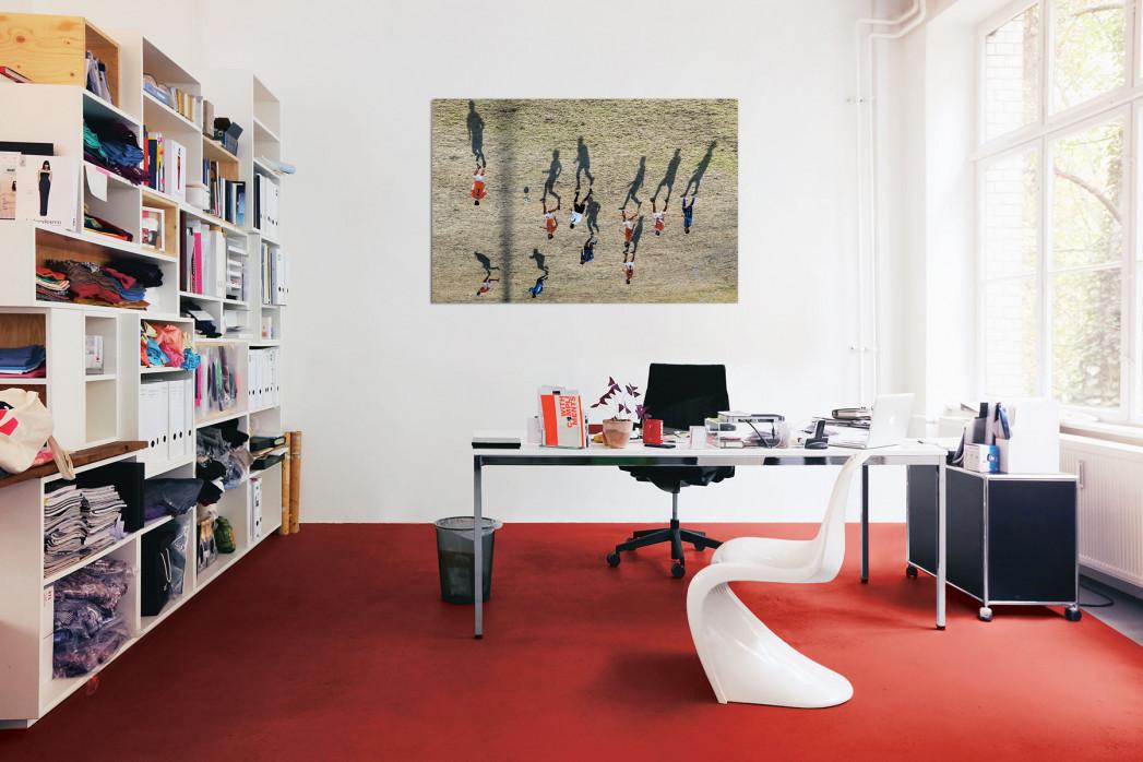 Motiv »Schattenspieler« in deinem Büro - 11FREUNDE BILDERWELT