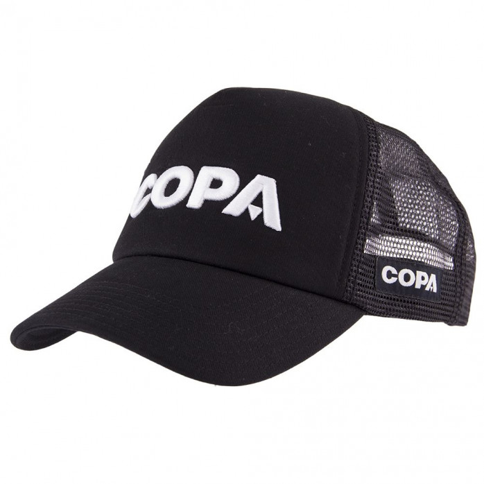 COPA 3D White Logo Trucker Cap