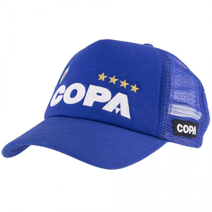 COPA Campioni Blue Trucker Cap